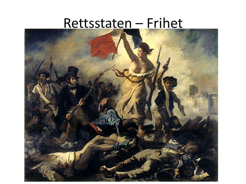 Rettsstaten – Frihet