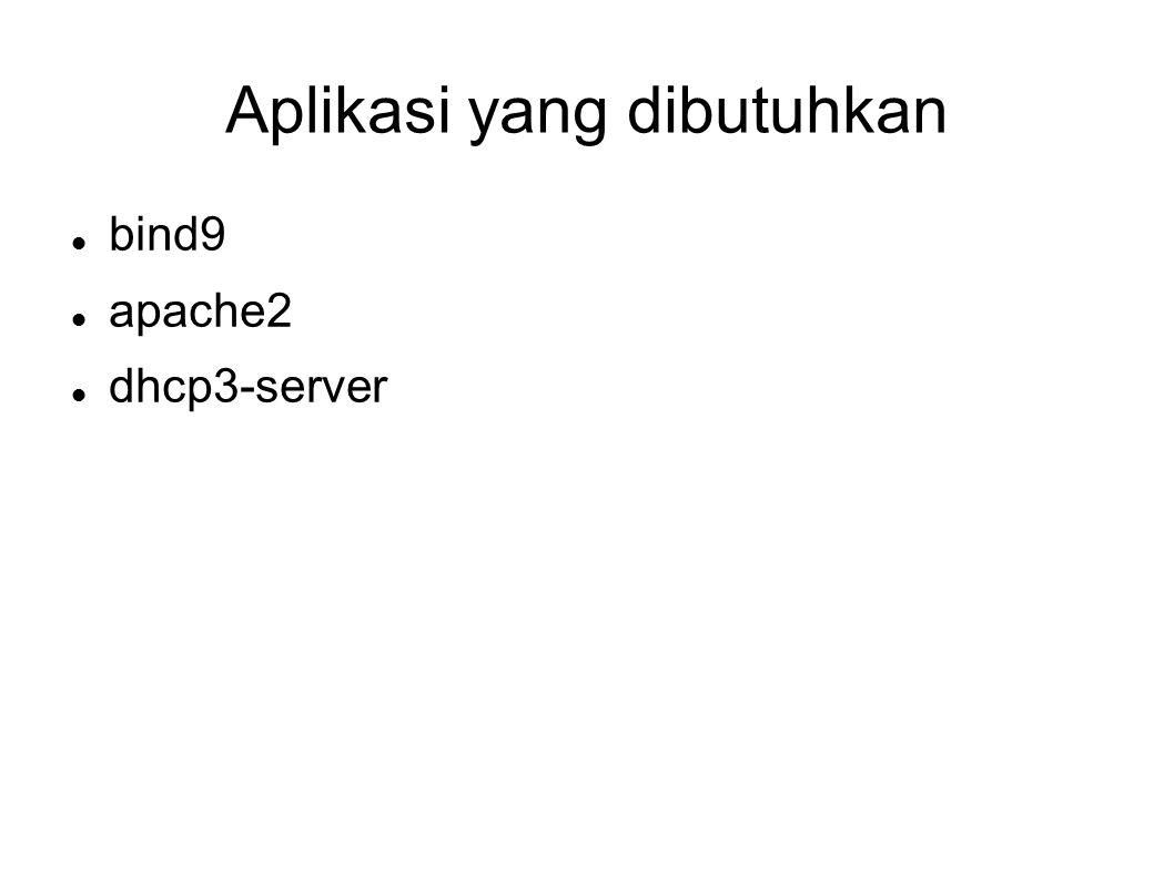 Ujicoba di client # vim /etc/dhcp3/dhclient.conf  edit send host-name sub-domain ;  edit dhcp-client-identifier ; # dhclient ethx # ping sub-domain.domain