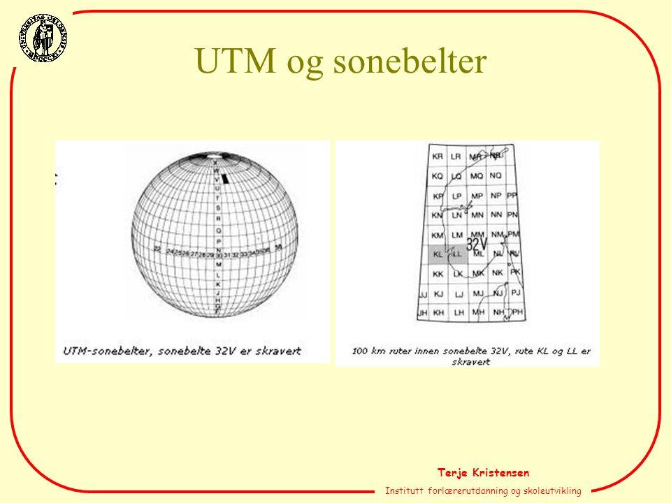 Terje Kristensen Institutt forlærerutdanning og skoleutvikling UTM og sonebelter