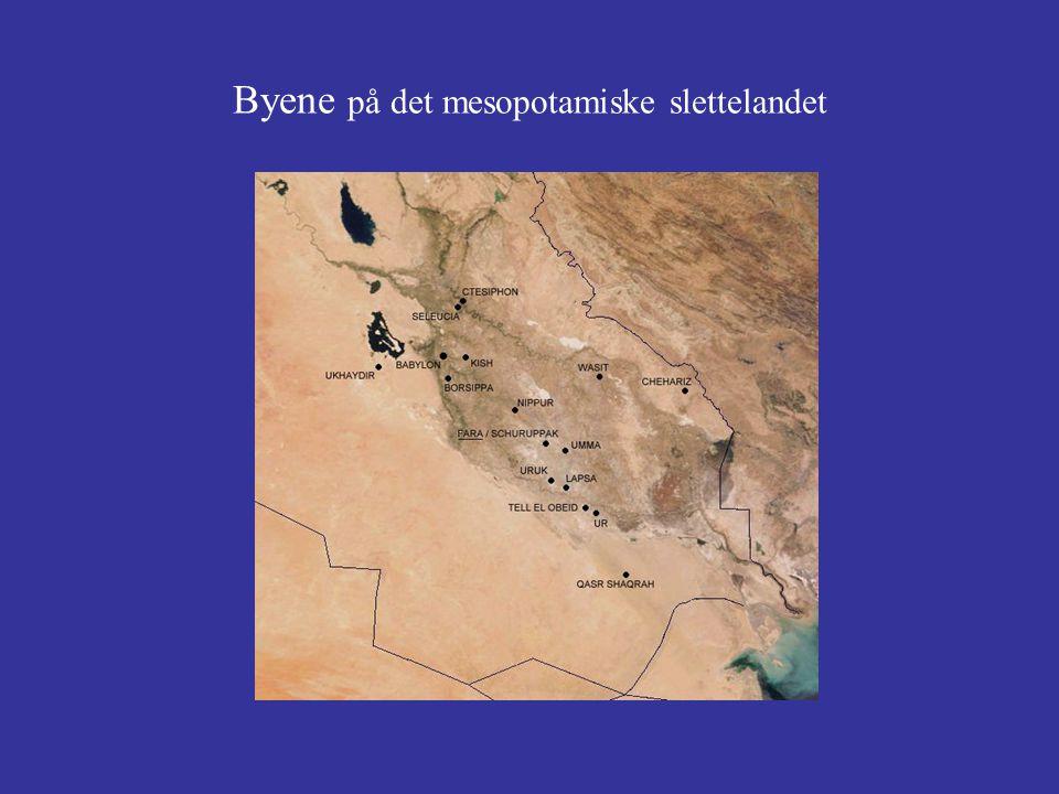 Byene på det mesopotamiske slettelandet