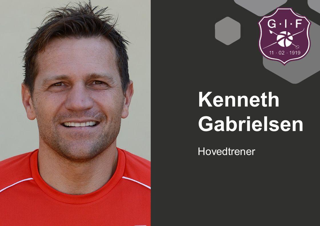 Hovedtrener Kenneth Gabrielsen