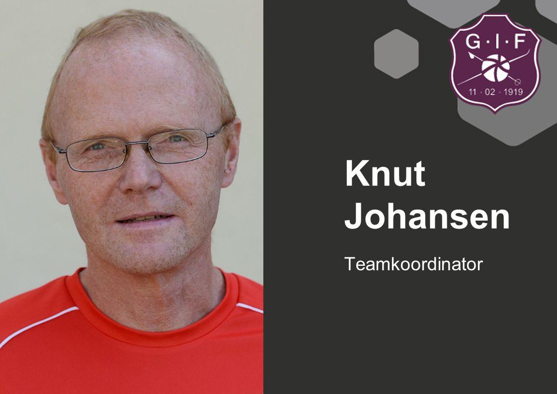 Teamkoordinator Knut Johansen