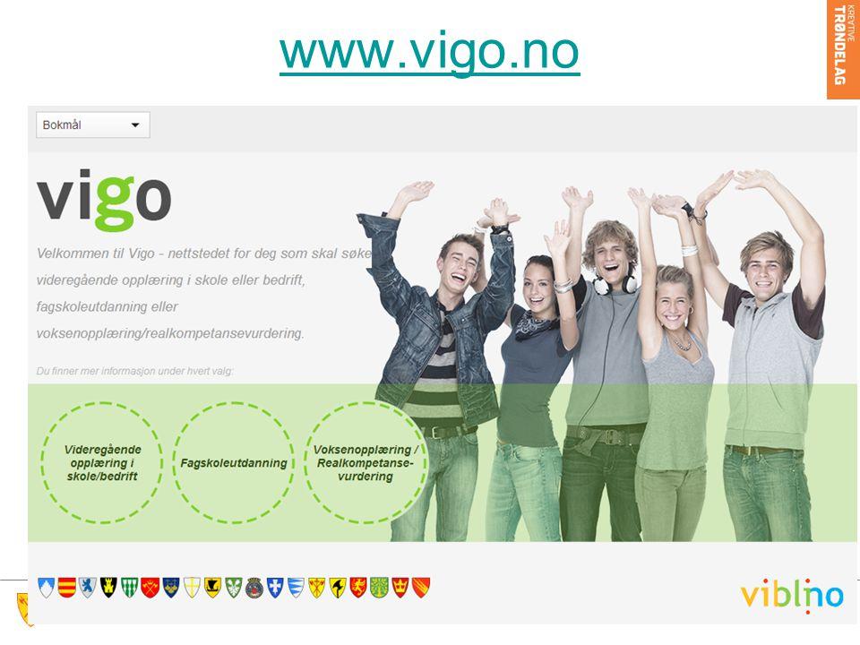 Testbruker «Peder Ås» https://www.vigo.no/vigo/servlet/vigo?cmd =VgsRefnrLoginhttps://www.vigo.no/vigo/servlet/vigo?cmd =VgsRefnrLogin Brukernavn og passord sender Fagenheten til skolene i januar