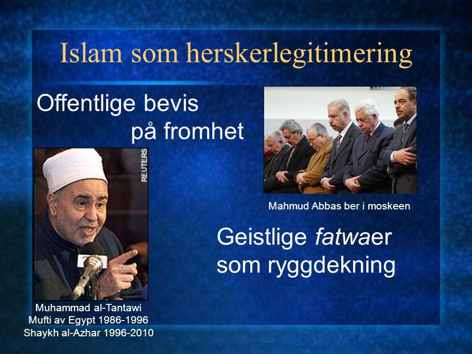 Er islam i seg selv politisk.