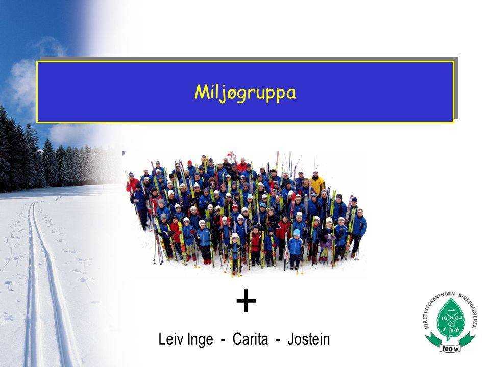 Miljøgruppa + Leiv Inge - Carita - Jostein