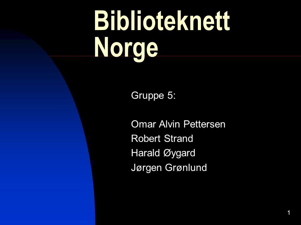 2 Visjon Biblioteknett Norge skal ha et tilbud for alle som bor i landet, med vekt på barn og ungdom.