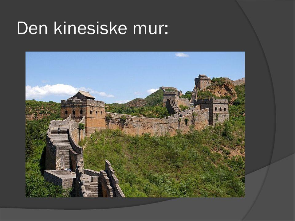 Den kinesiske mur: