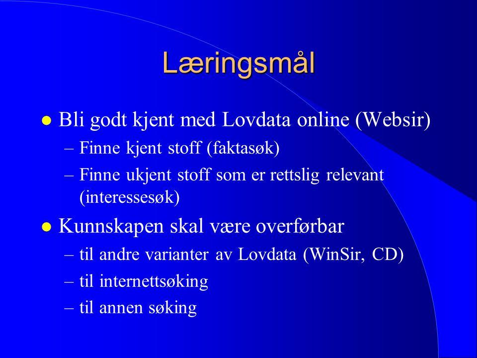 Rettslige informasjonssystem l Hva er rettslig informasjonssøk.