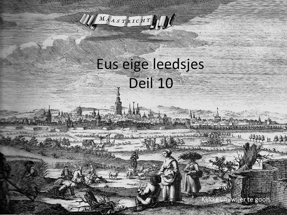 Umwalling Wiek mèt rondeel Bloemendaal 1669 Valentijn Klotz Meister Jepkes höbder hieringe .