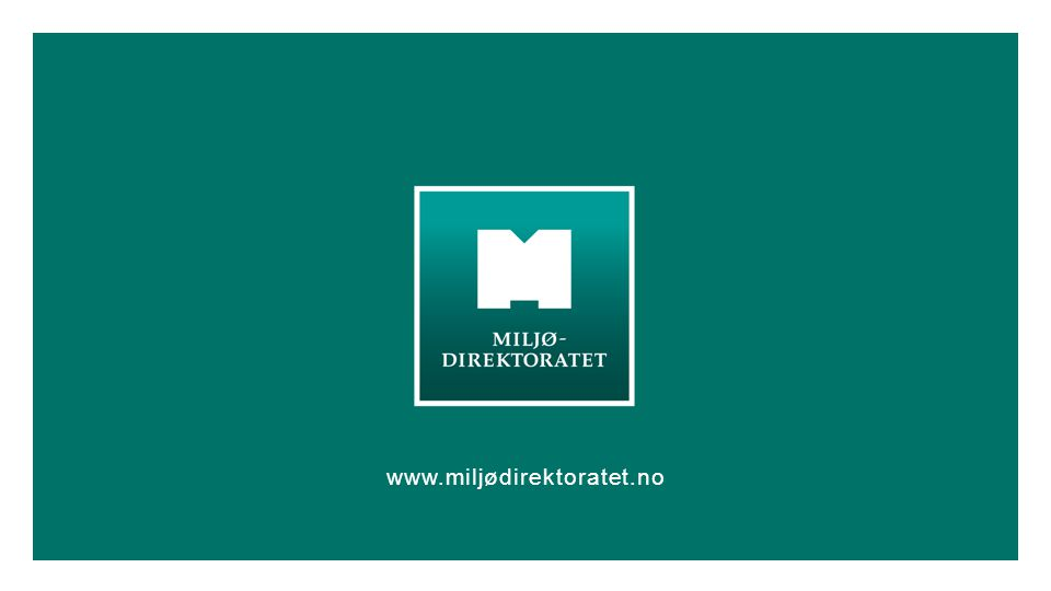 www.miljødirektoratet.no