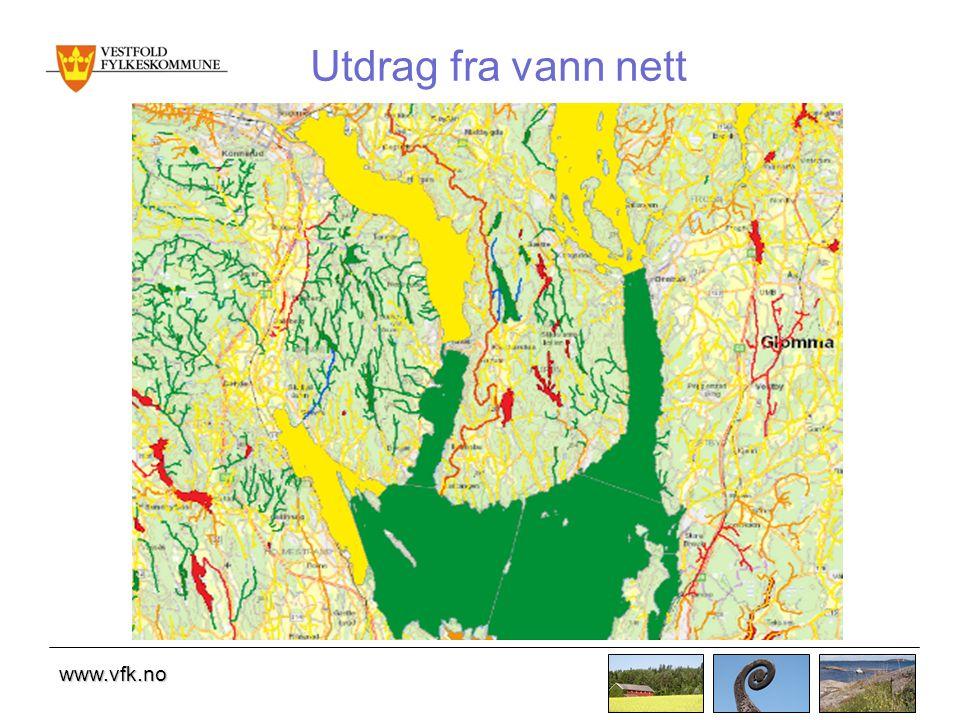 www.vfk.no Utdrag fra vann nett
