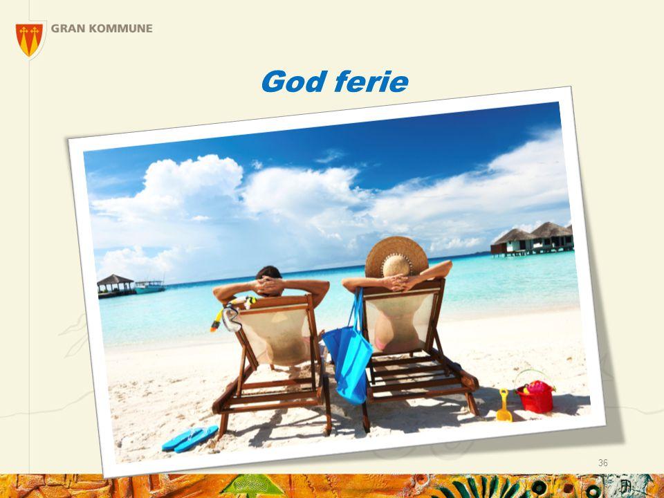 God ferie 36