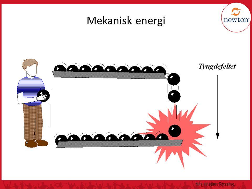 Nils Kristian Rossing Mekanisk energi