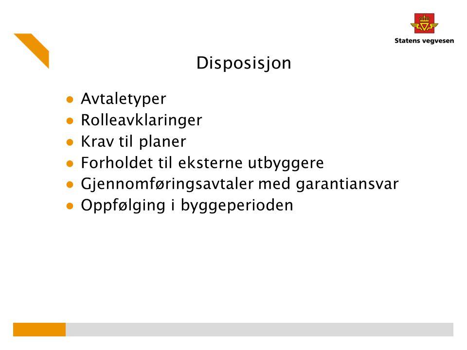 Gjennomføringsavtale – detaljer (6) -8.4 Overlevering fra Utbygger til SVV.