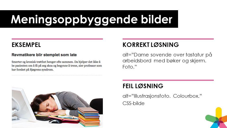 Meningsoppbyggende bilder KORREKT LØSNING alt= Dame sovende over tastatur på arbeidsbord med bøker og skjerm.