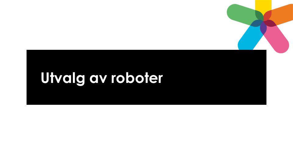 Utvalg av roboter