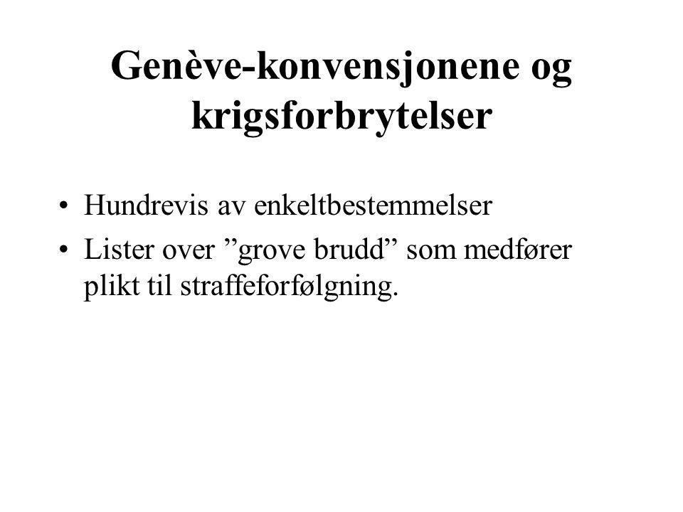 Norsk straffelovgivning Vanlige straffebestemmelser om drap, legemsbeskadigelse osv.