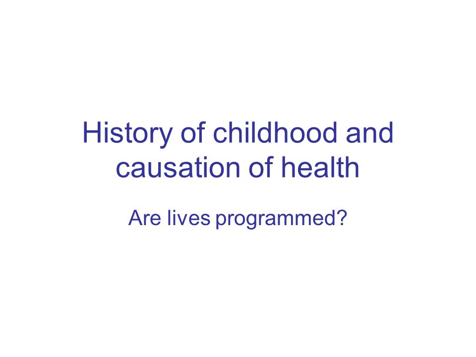 What is epidemiology? Basicly: The study of the origin of diseases