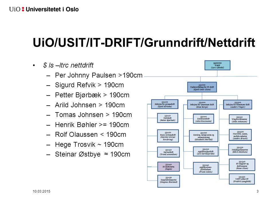 Uninett - UiO 11. april 2011Ny Powerpoint mal 20114