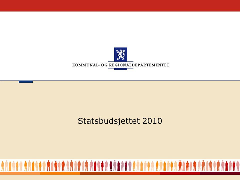 1 Statsbudsjettet 2010