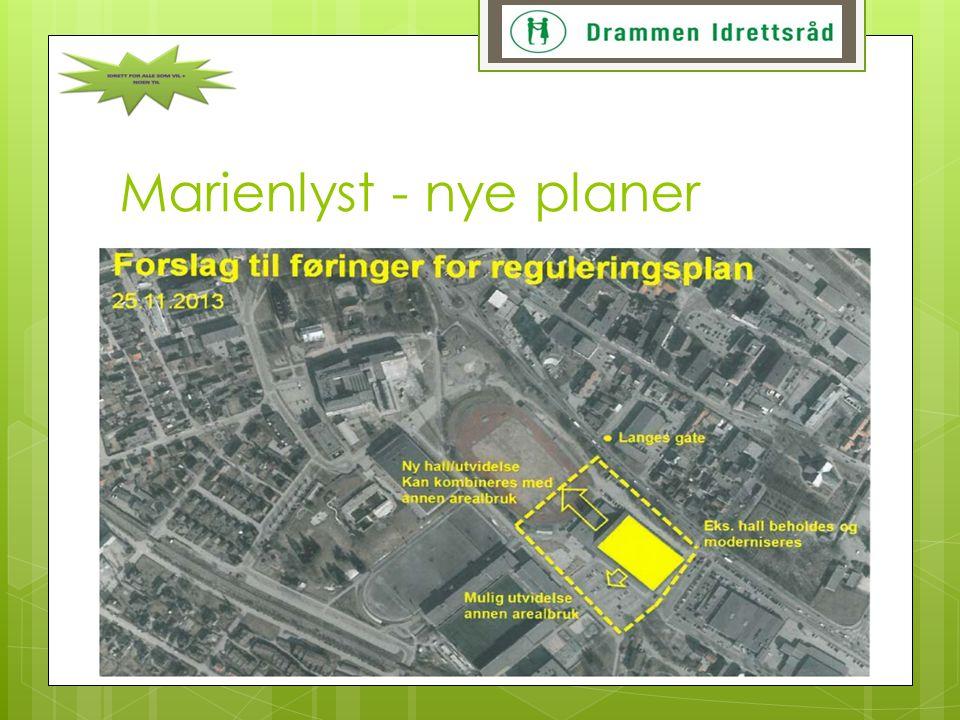 Marienlyst - nye planer
