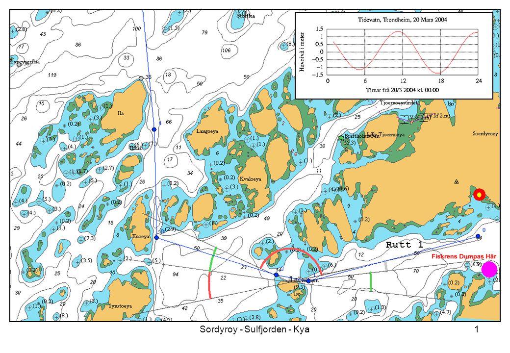 Sordyroy - Sulfjorden - Kya1 Rutt 1