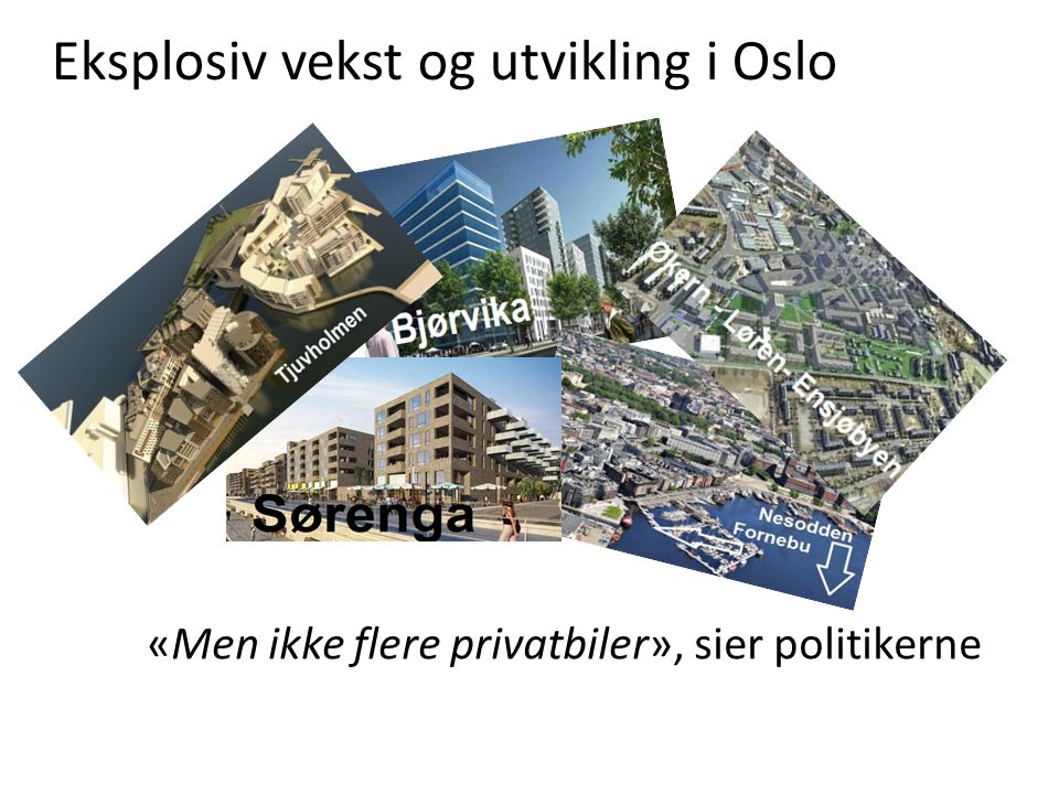Drosjene skal være byens «kollektive miljøbiler» Én miljødrosje kan erstatte 20 privatbiler.