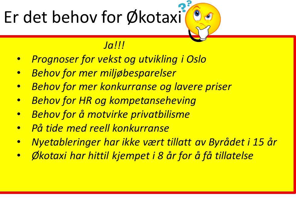 Opptil 40 % lavere priser, vil gi flere turer Basert på at drosjene i dag har kapasitet til å kjøre 3 ganger så mange turer Økt produktiv tid = Økt omsetning Fastpriser – kunden skal vite hva turen koster på forhånd Rekruttering og opplæring Økt kompetanse gir økt trivsel og trygghet for både sjåfører og kunder Billige lavforbruk-taxier og effektivt driftskonsept Enkel, tydelig og frisk profil som folk gjenkjenner og forstår Samarbeid med de andre kollektivtransportørene Kompetent og solid aktør med ambisjoner