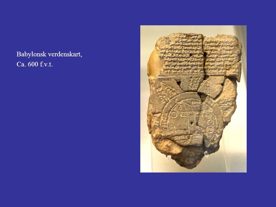Babylonsk verdenskart, Ca. 600 f.v.t.