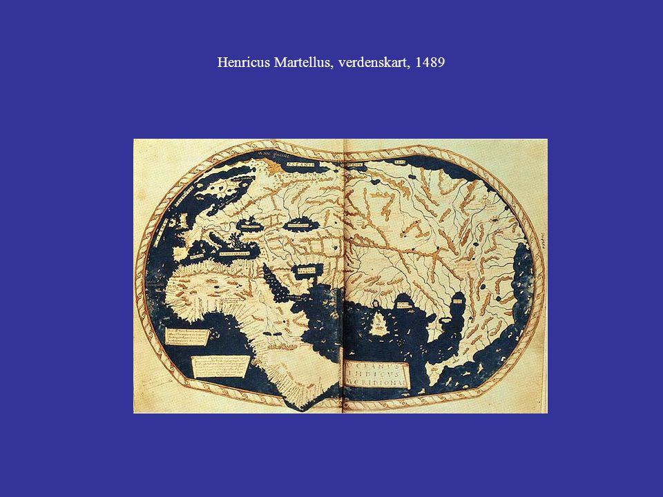 Henricus Martellus, verdenskart, 1489