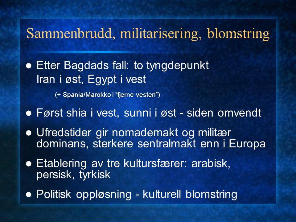 1500-1800: Ny konsolidering: osmaner og safavider
