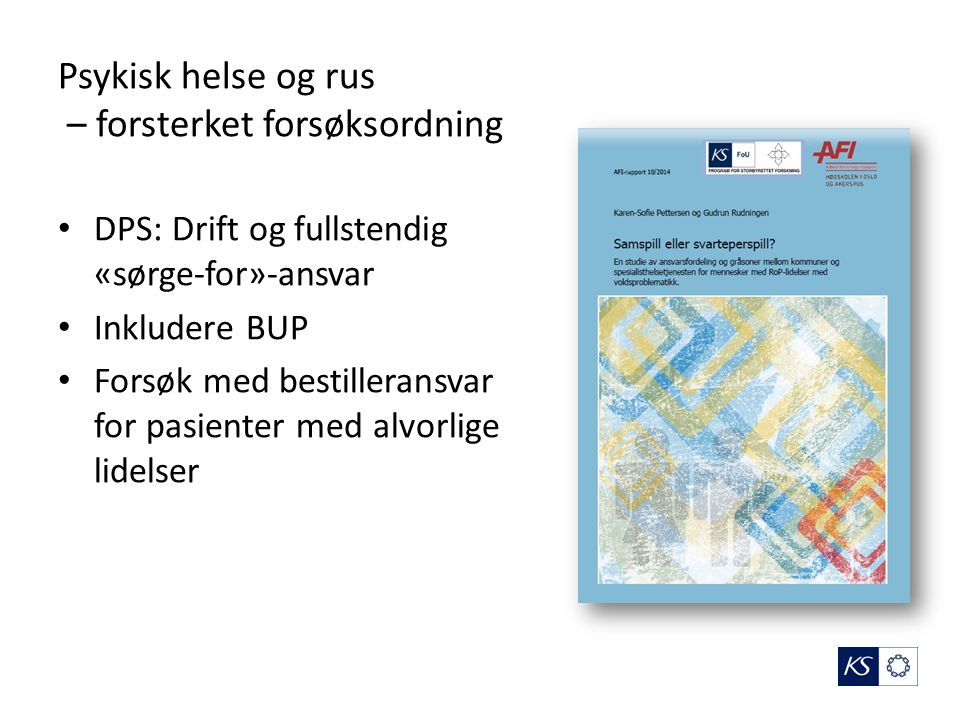 Oppgavemeldingen Kommunal- og forvaltningskomitéen 14.