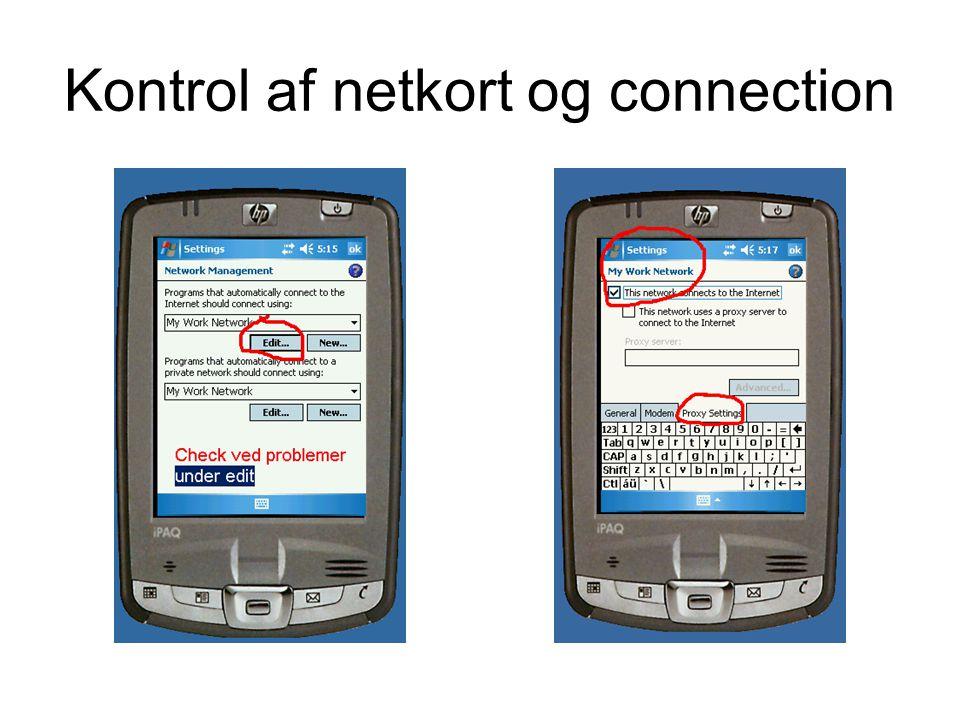 Tilgang til internet over telefon- modem Vælg internet over telefon under bluetooth-manager Der kaldes op med til følgende nummer: *99***1# og vælges blank bruger m.m.
