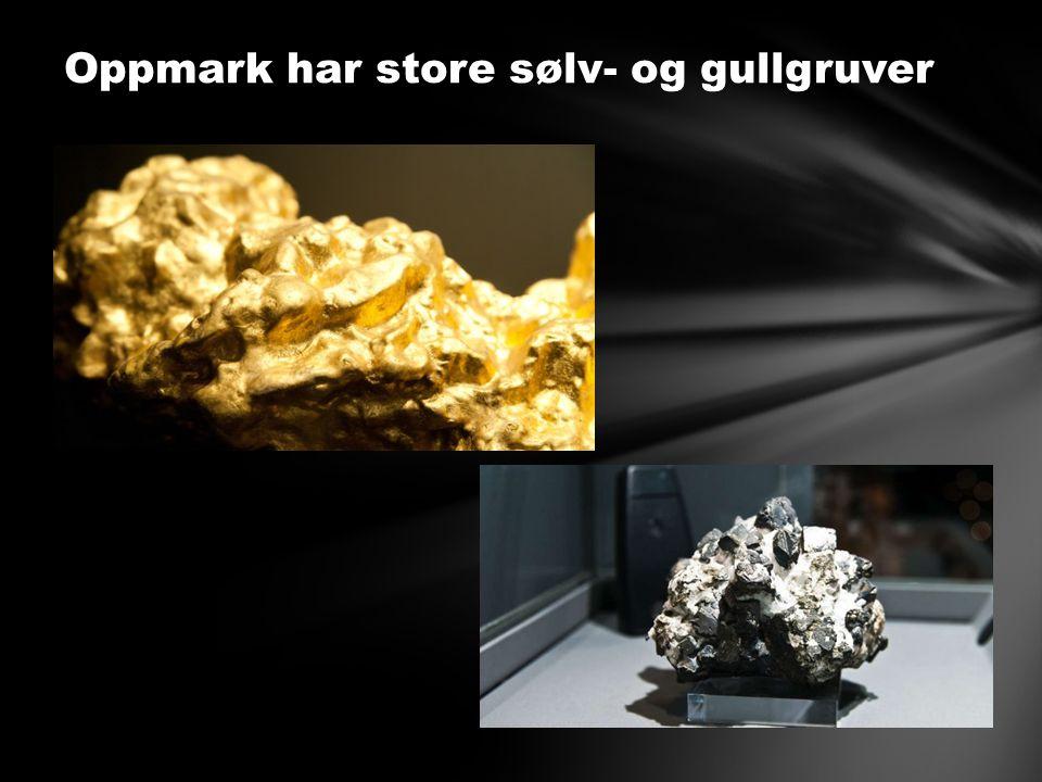 Oppmark har store sølv- og gullgruver