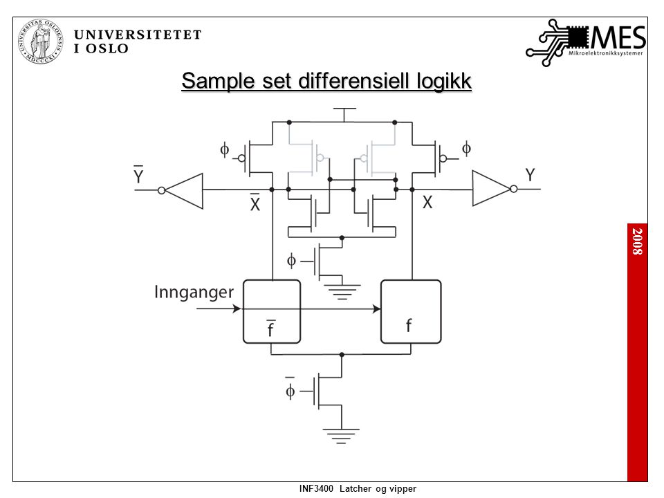 2008 INF3400 Latcher og vipper Sample: Set: