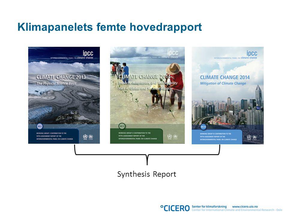 Klimapanelets femte hovedrapport Synthesis Report