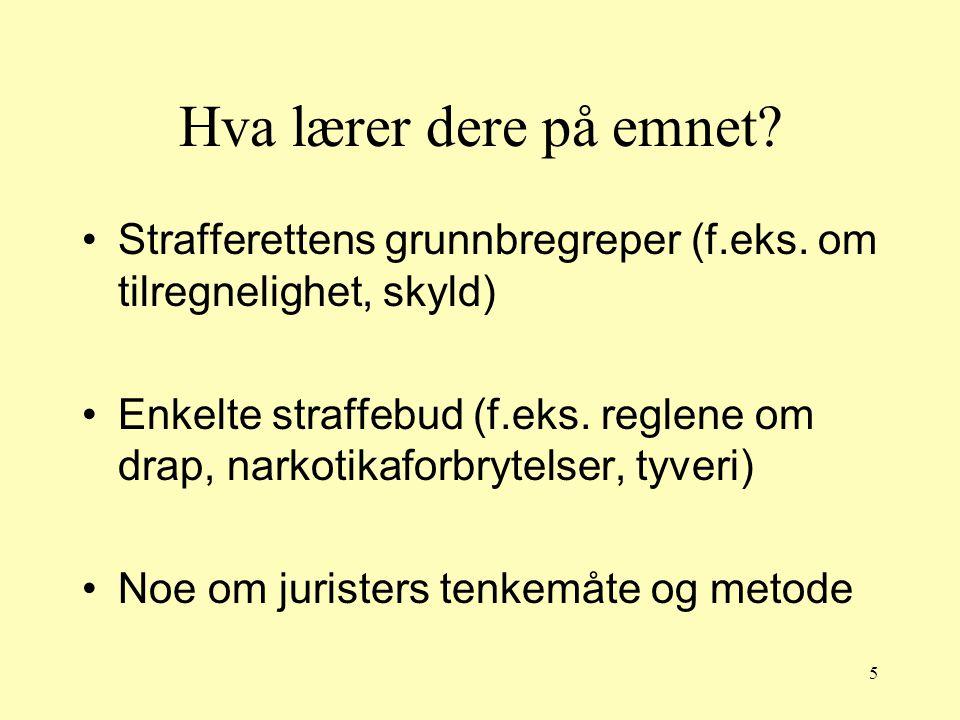 26 Rettskildene Den juridiske litteratur Som regel undersøker jurister om et tvilsomt rettsspørsmål er behandlet i litteraturen og legger vekt på argumenter de finner i litteraturen.