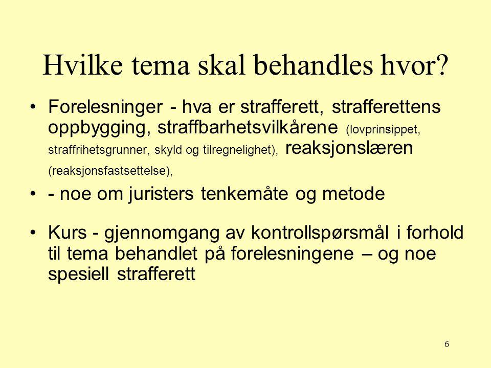 27 Rettskildene Internasjonale rettskildefaktorer Norge har inngått en rekke avtaler (traktater og konvensjoner) med andre land - disse avtalene er bindende (menneskerettigheter)