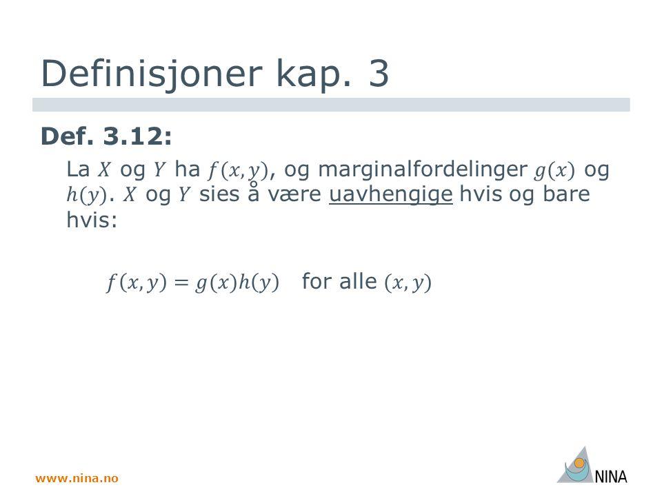 www.nina.no Foto på side 1: P.Jordhøy, J. Thomassen, E.