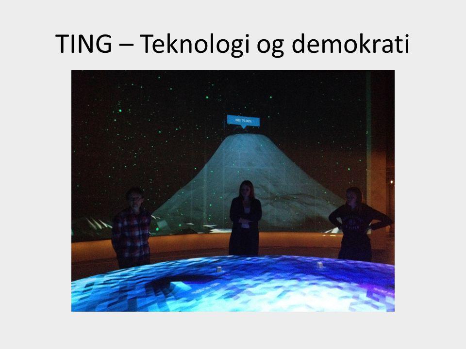TING – Teknologi og demokrati