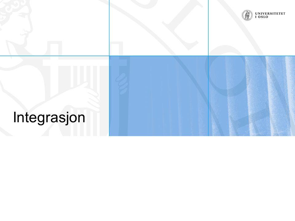 Integrasjon
