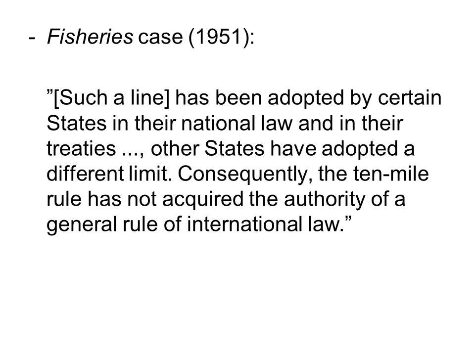 Sedvanerett i praksis Folkerettskommisjonens (ILCs) rolle –Kodifisering og gradvis utvikling –ILCs praksis og betydning ICJs rolle –Avgjør om sedvane foreligger –Politisk legitimitet