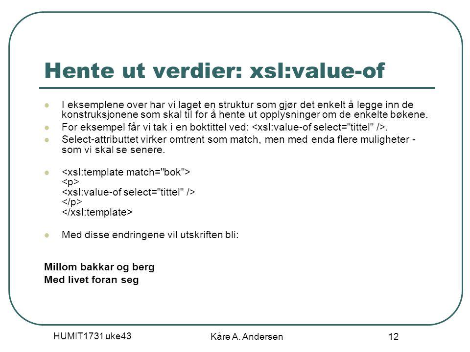 HUMIT1731 uke43 Kåre A.