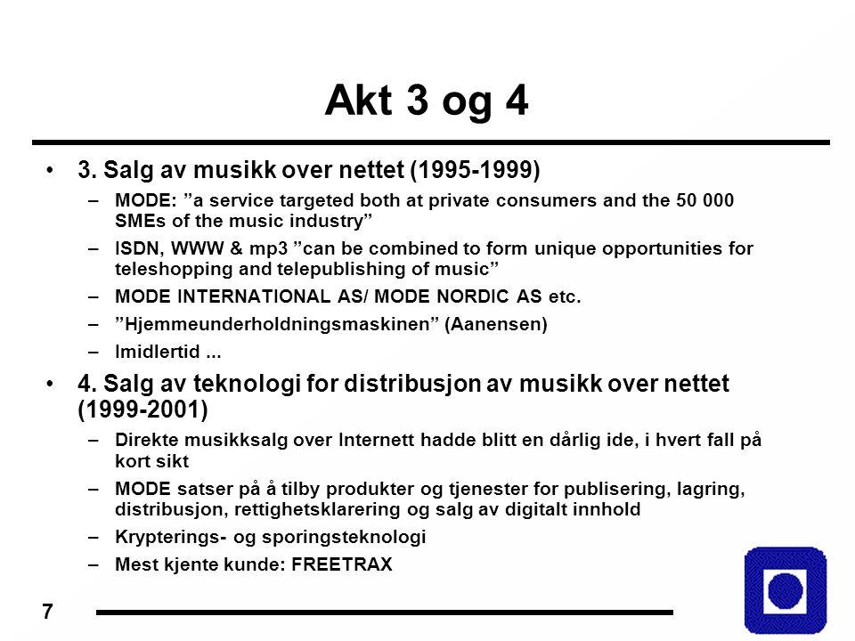 8 Mp3 og Sogndal revisited MusicFinder […] representerer en arkitektur for utforming av de ulike cd-rom- produkter som det nå arbeides med.