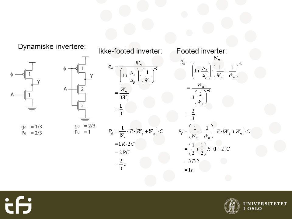 Sense-amplifier kretser Dual rail domino logikk: