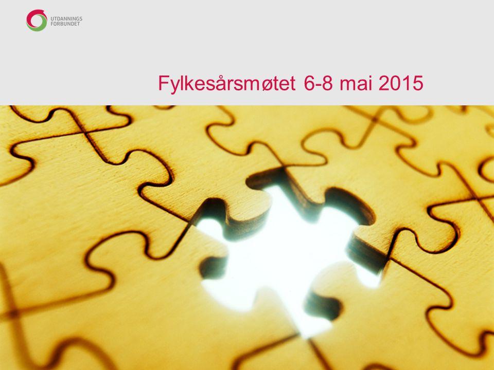 Fylkesårsmøtet 6-8 mai 2015