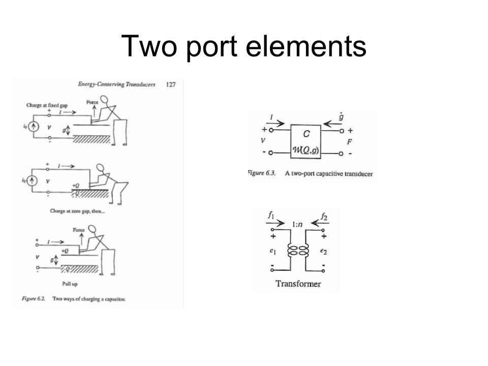 Two port elements