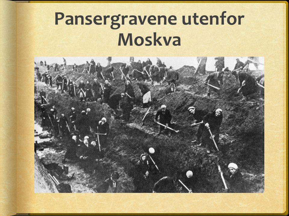 Pansergravene utenfor Moskva