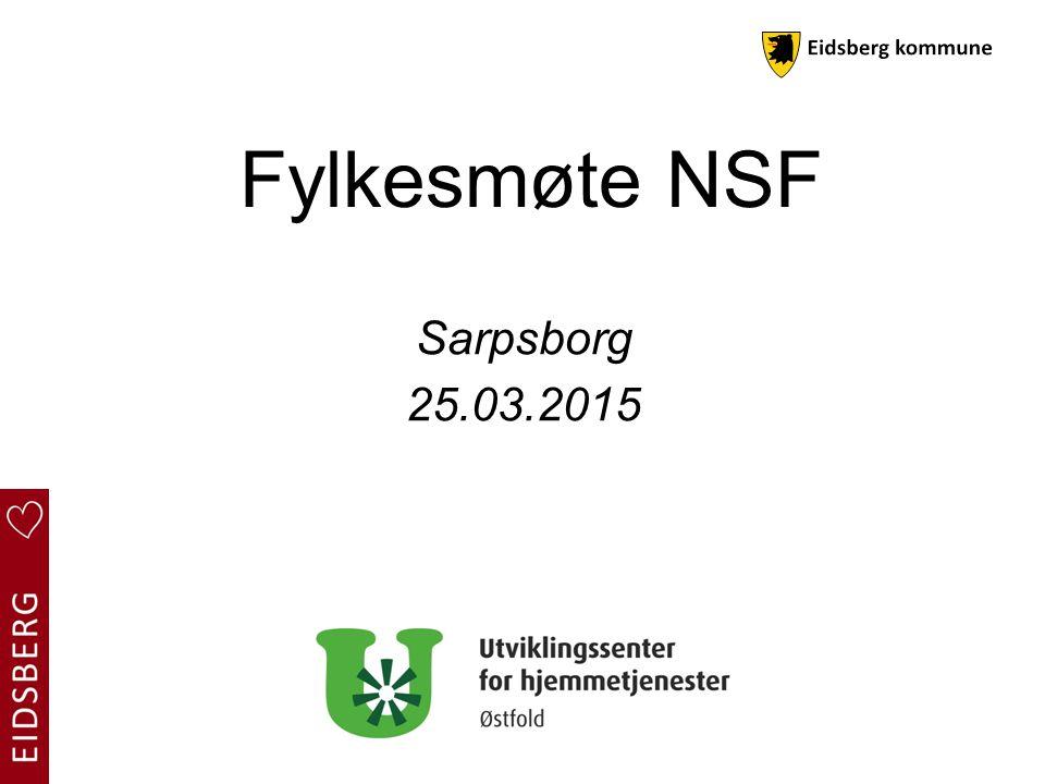Fylkesmøte NSF Sarpsborg 25.03.2015