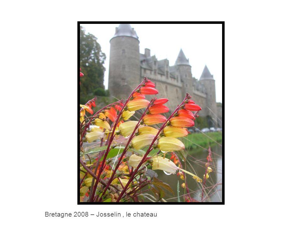 Bretagne 2008 – Josselin, le chateau